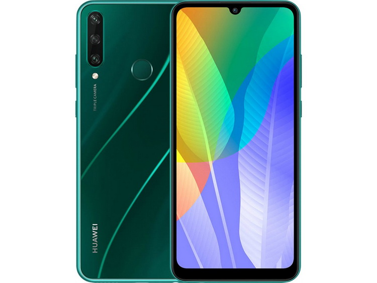 Huawei Y6p Green-ракурсы