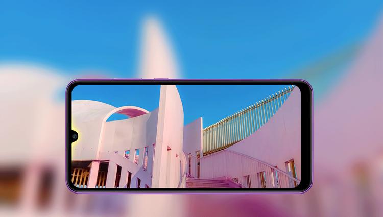 Huawei y6p-экран смартфона