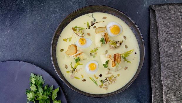 Крем-суп текстура