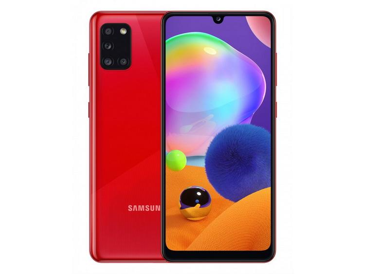 Samsung Galaxy A31 Prism Crush Red-ракурсы