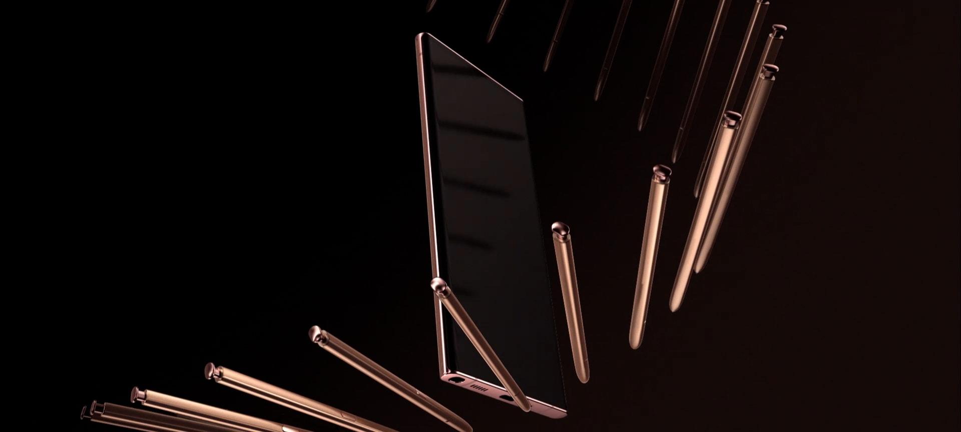 Samsung Galaxy Note 20-поддержка стилуса