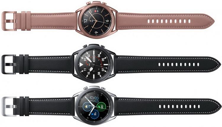 Samsung Galaxy Watch 3-расцветки новинки