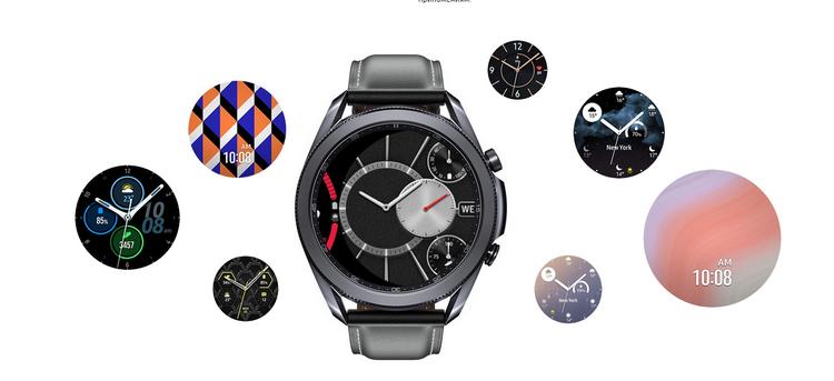 Samsung Galaxy Watch 3-циферблаты в новинке