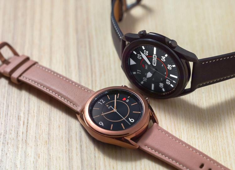 Samsung Galaxy Watch 3-умные часы расцветки