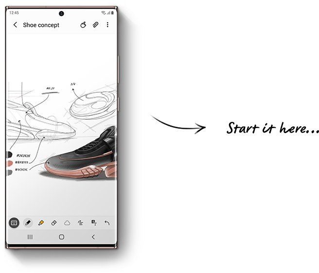 Samsung Notes-синхронизация