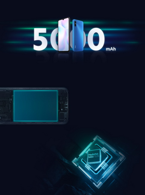Xiaomi 9A-аккумулятор