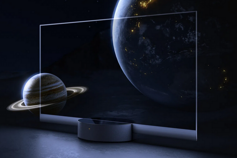 Xiaomi Mi TV Lux Transparent Edition-новинка