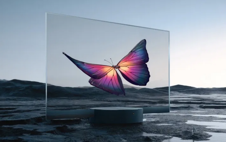 Xiaomi Mi TV Lux Transparent Edition-прозрачный экран