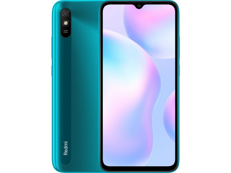 Xiaomi Redmi 9A Peacock Green-ракурсы