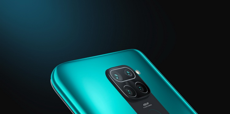 Xiaomi Redmi Note 9 Forest Green-камеры