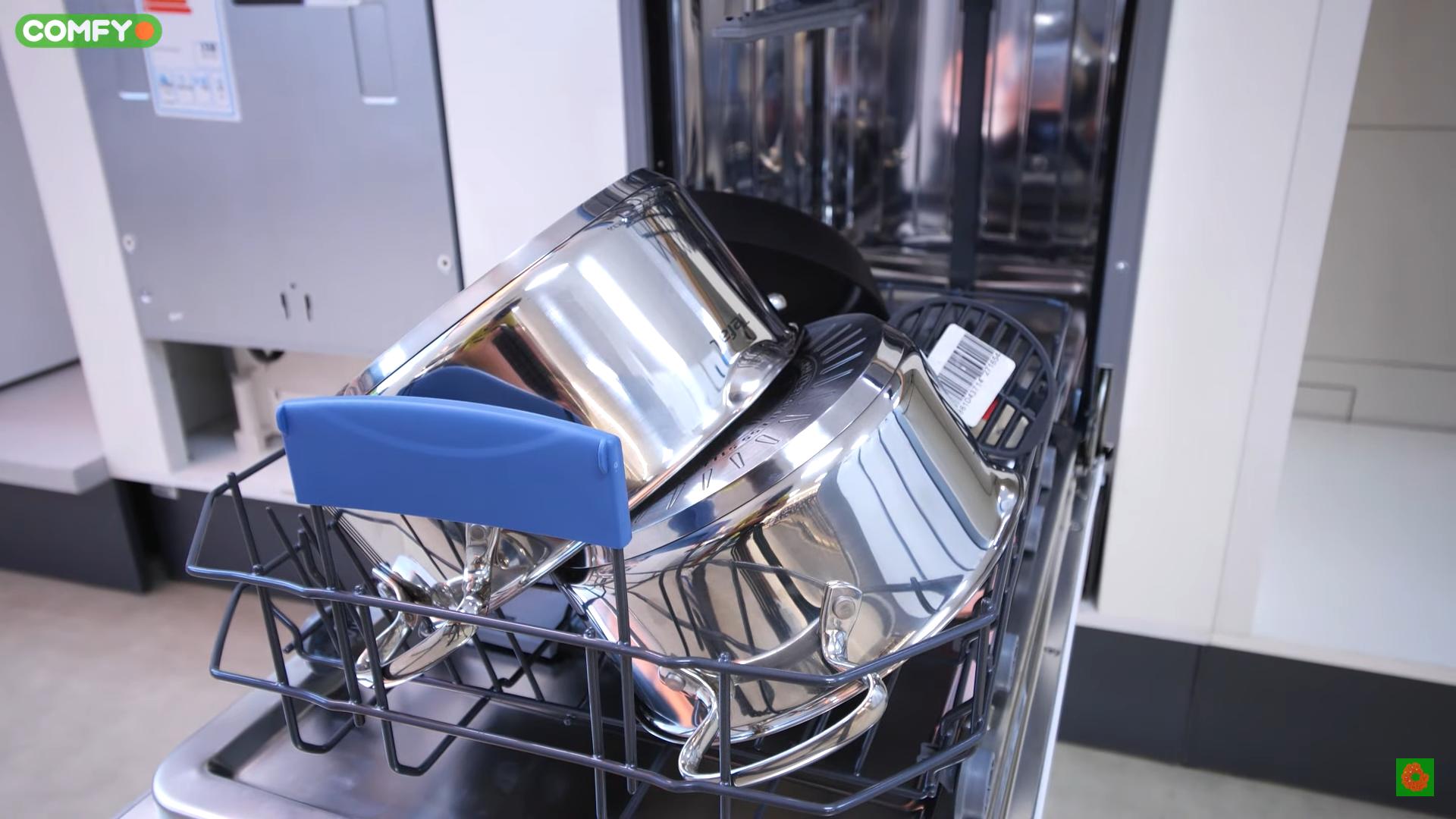 Загруженная посудомойка