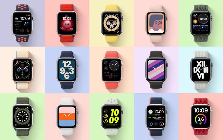 Apple Watch SE-ассорти
