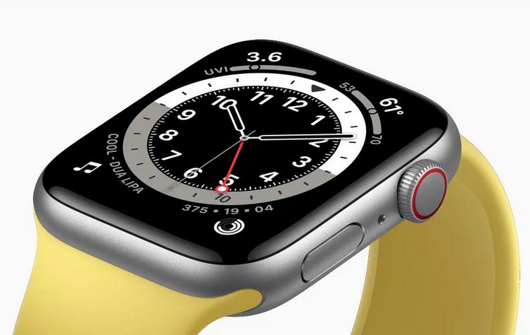 Apple Watch SE-экран