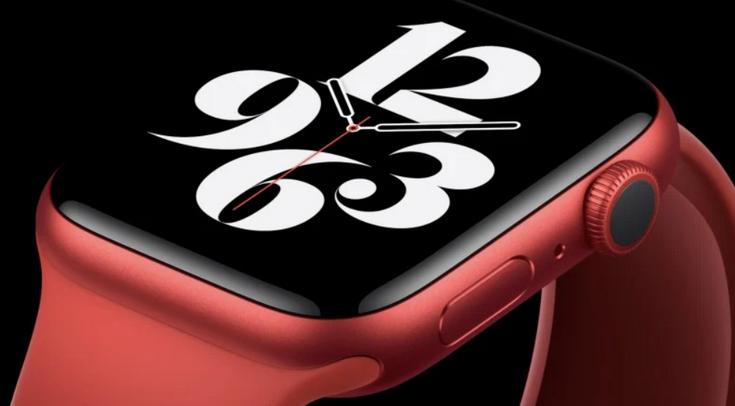 Apple Watch Series 6-красные