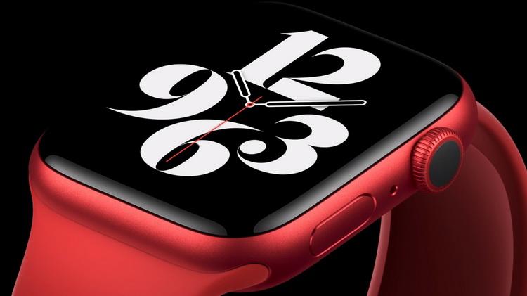 Apple Watch Series 6-красный корпус
