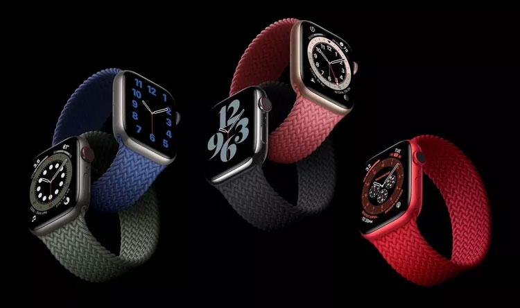Apple Watch Series 6-новые ремешки