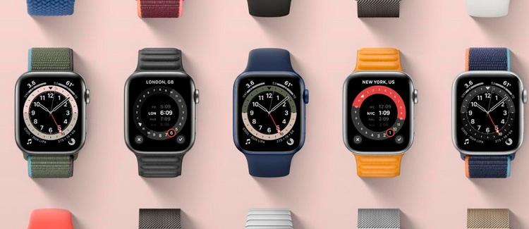 Apple Watch Series 6-циферблаты
