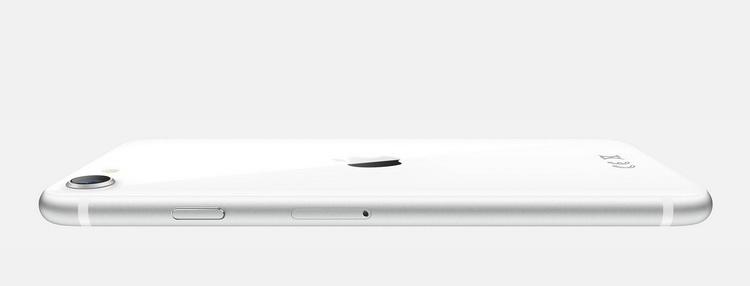 Apple iPhone SE 2020 White-толщина корпуса