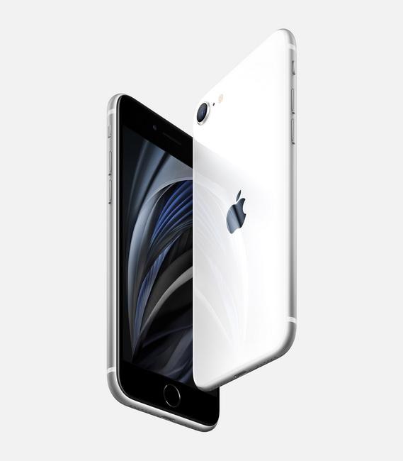 Apple iPhone SE 2020 White-в ракурсах