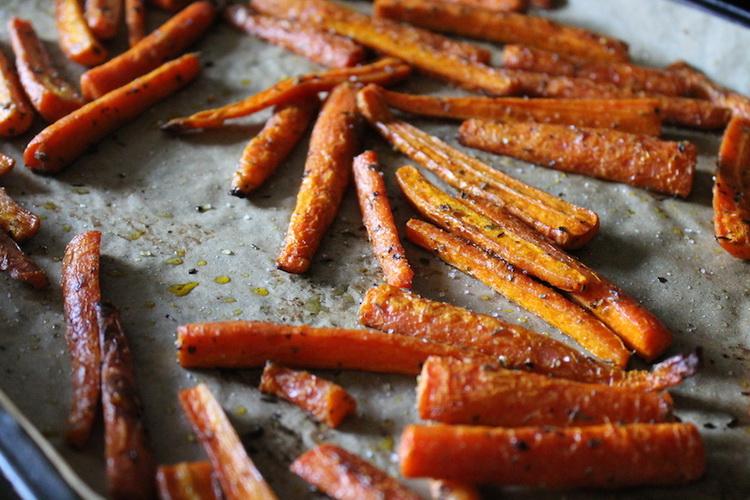 Морковные палочки-ПП