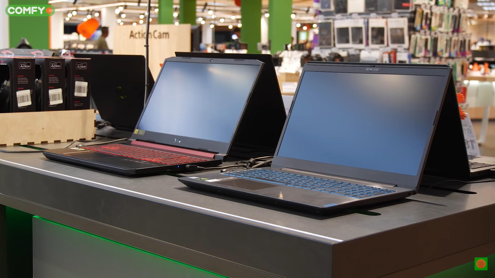 Несколько ноутбуков