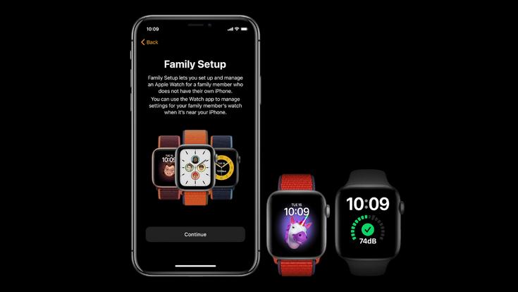 Новые Apple Watch-Family Setup