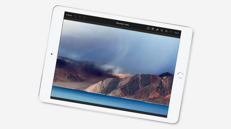Новый iPad-экран