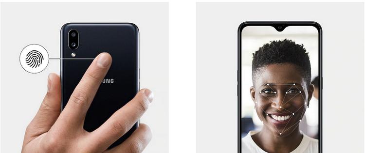 Samsung Galaxy A10s-аутентификация пользователя