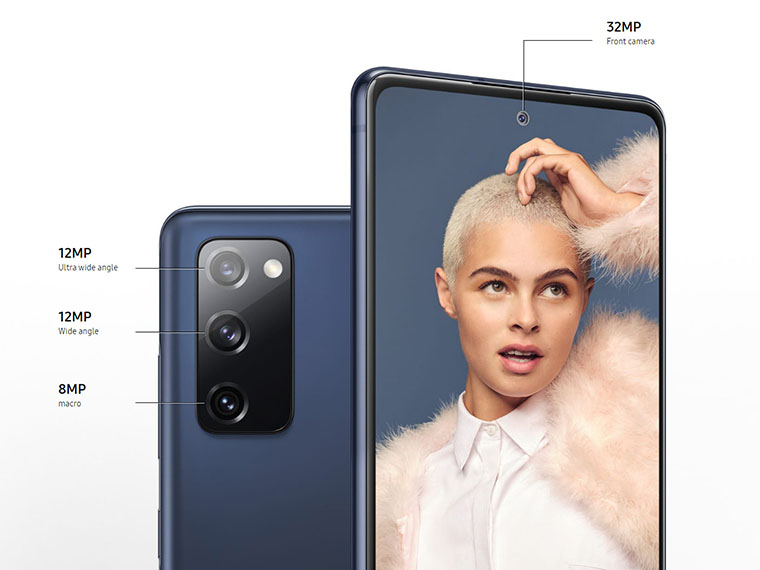 Samsung Galaxy S20 Fan Edition камеры