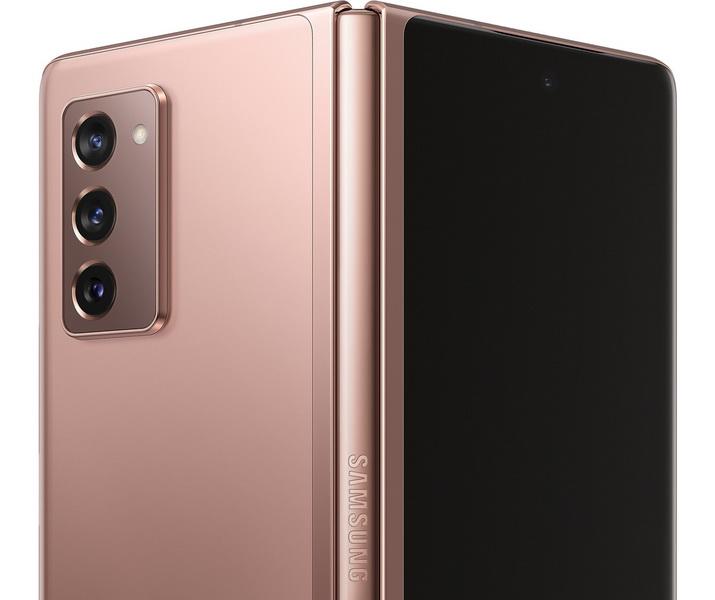 Samsung Galaxy Z Fold 2-дизайн
