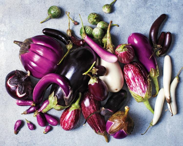 eggplant-баклажан.