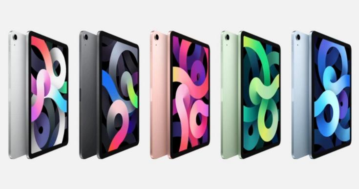iPad Air-2020 расцветки