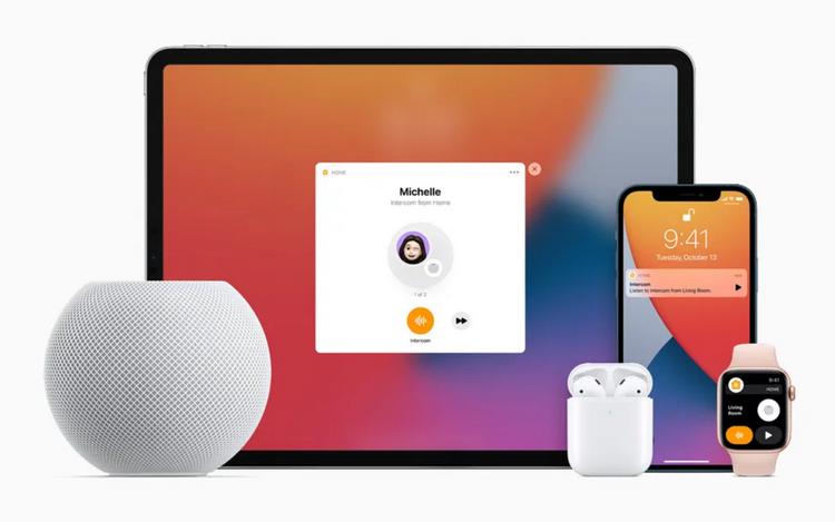 Apple HomePod mini-Intercom