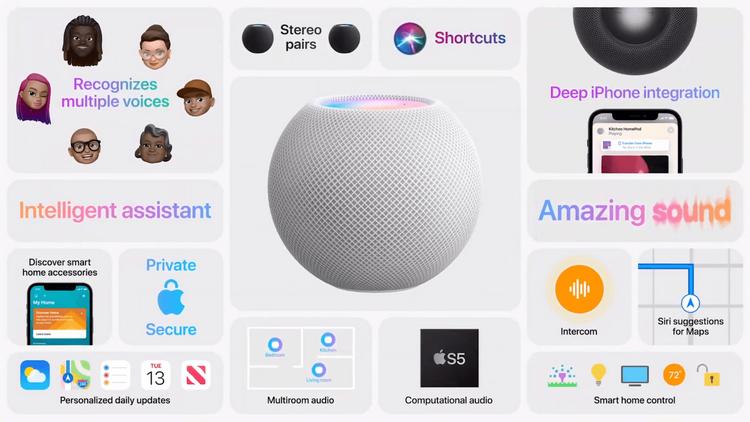 Apple HomePod mini-особенности