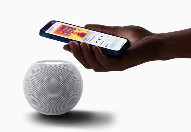Apple HomePod mini-управление