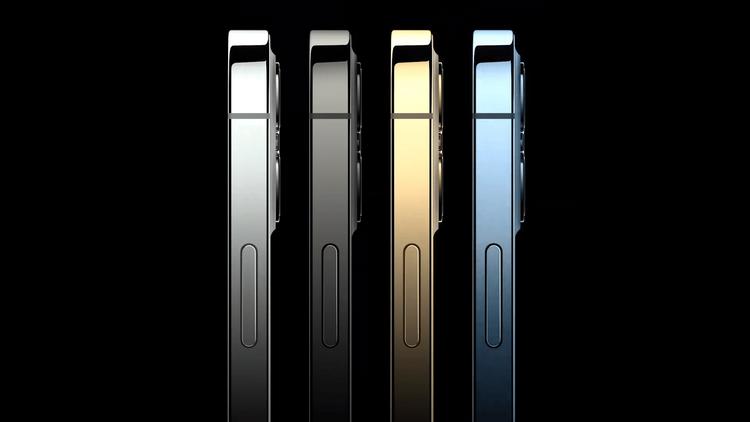 Флагманские iPhone 12 Pro-расцветки грани