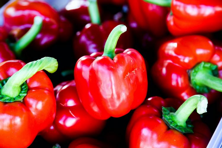 Красный болгарский перец-для паприки.