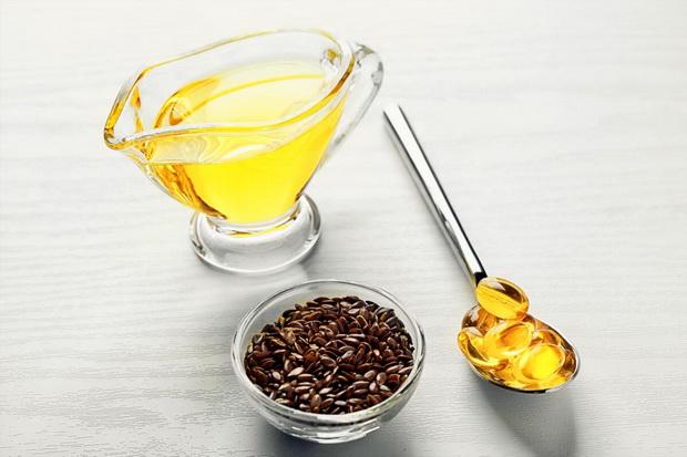Льняное масло-омега-3