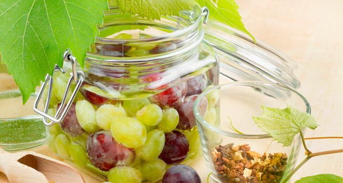 Маринованный виноград-как приготовить