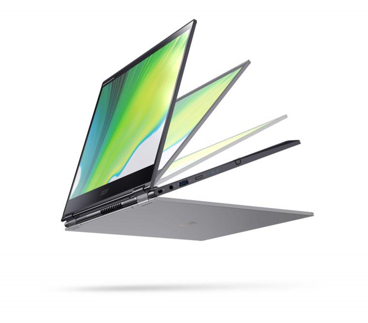 Ноутбук Acer Swift 3X разворот