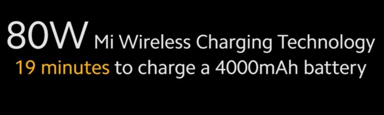 Новая беспроводная зарядка Xiaomi-80 Вт