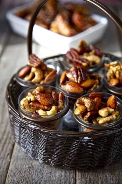 Орехи-со специями.