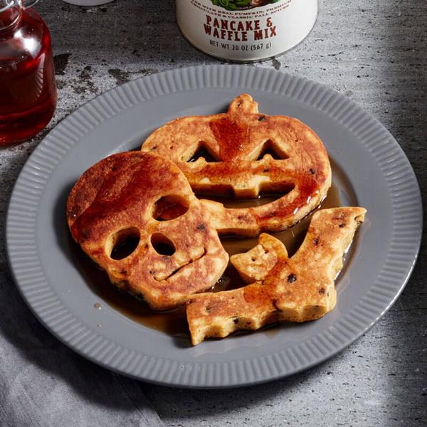 Панкейк-завтрак на Хэллоуин