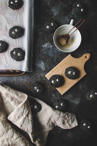 Печенье черные чернушки-сусуватари