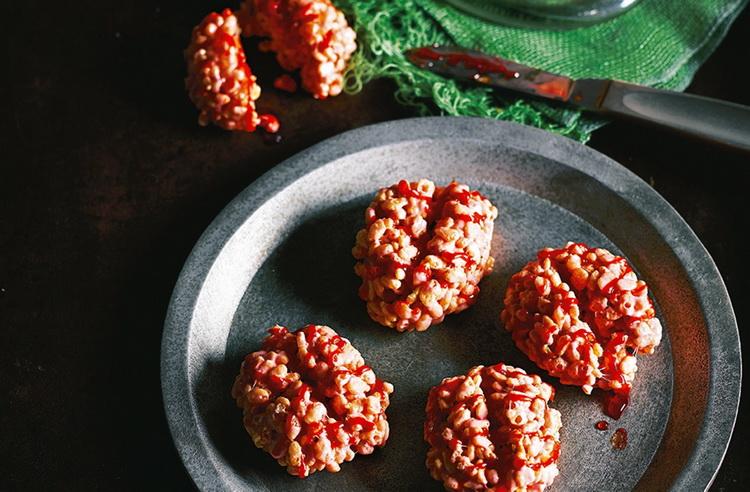 Попкорн-мозги из воздушного риса