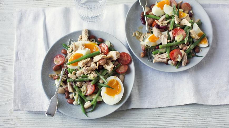 Салат с тунцом-эксперименты с рецептом
