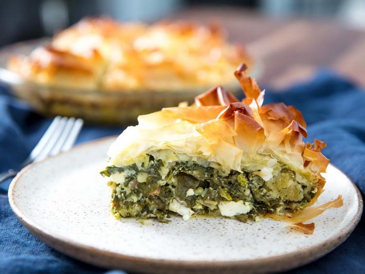 Spanakopita-шпинатный пирог