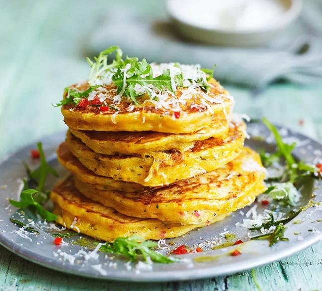 Squash pancakes-рецепт