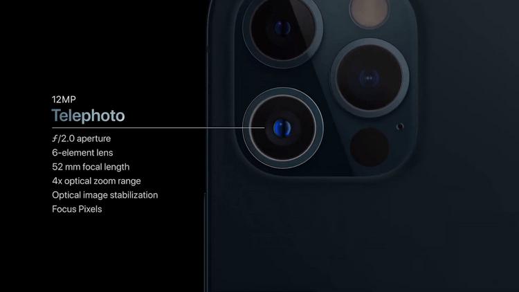 iPhone 12 Pro-камера характеристики 2