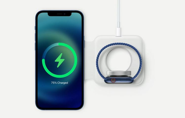 iPhone 12-часы одновременная зарядка